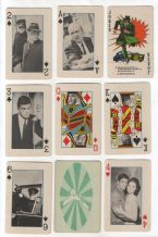 Collectible playing cards.Green Hornet 1966.
